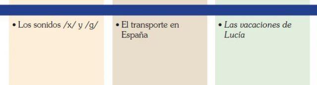 Español para adolescentes 5